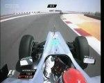 Schumacher'in araç üstü görüntüleri