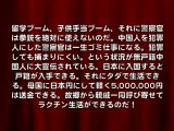 子供手当は日本の富を中国へ差し上げることで御座候!