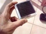 Düşük güçlü solar hücre ile cep ve mp4 şarj cihazı