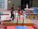 Gymnastique Versailles (Macéo parallèles, équipe 2 Vélizy)