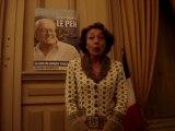 Lydia SCHENARDI, s'exprime au sujet du taux de participation