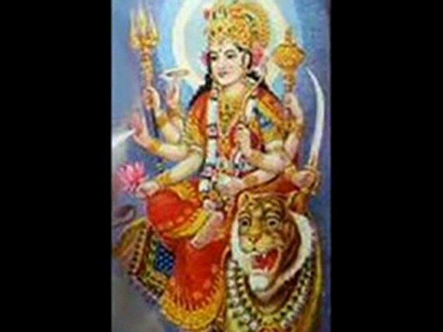 (Mahisasura Mardini) — Sanskrit