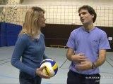 Sylvain Pichon et le volley à Argenteuil
