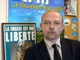 Déclaration de F. Nihous après le premier tour en Aquitaine