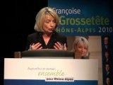 Discours de Françoise Grossetête en Rhône-Alpes