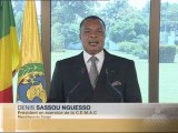 REPORTAGE - Denis SASSOU N'GUESSO - Discours à la C.E.M.A.C