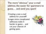 Email Spam Protection – Tip #10: Anti-Spam E-mail Address
