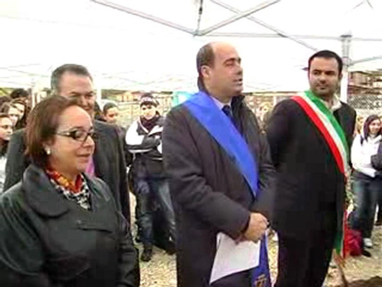 NICOLA ZINGARETTI - MONTEROTONDO: POSA DELLA PRIMA ...
