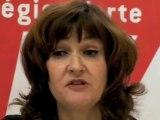 Elections régionales 2010 - La liste de l'union de la gauche
