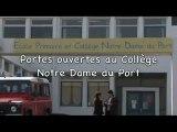 Portes ouvertes au collège Notre dame du Port