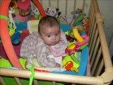mathilde de sa naissance à 5 mois