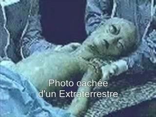 Photo cachée d'un Extraterrestre