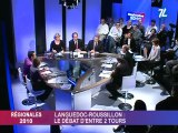 Régionales : Couderc / Frêche / Jamet , le débat !