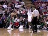 Spencer Hawes cleans the board with the big one-handed follo