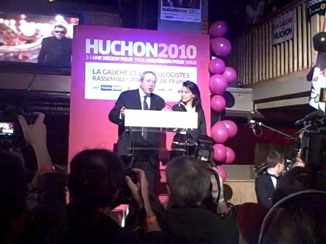 Jean-Paul Huchon et Cécile Duflot vous remercient