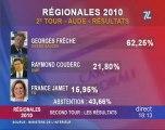 Analyse des resultats regionales 2010