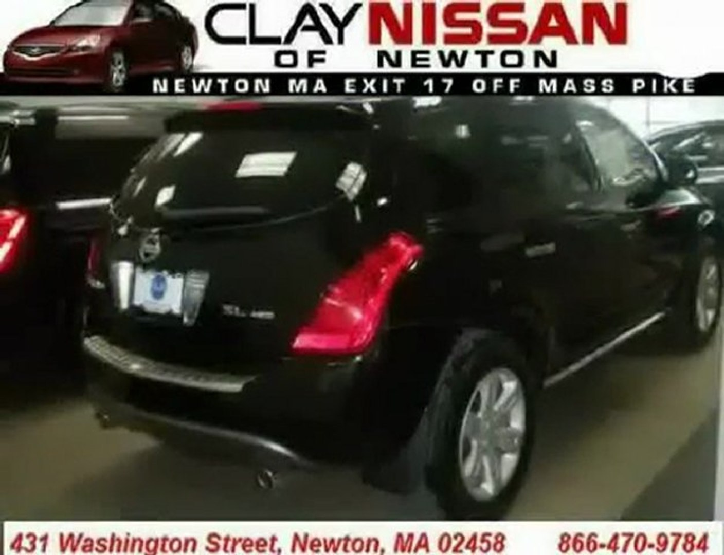 Clay Nissan Newton >> Nissan Murano Mass Boston