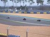 moto sur le circuit bugatti au mans 22 03 2010