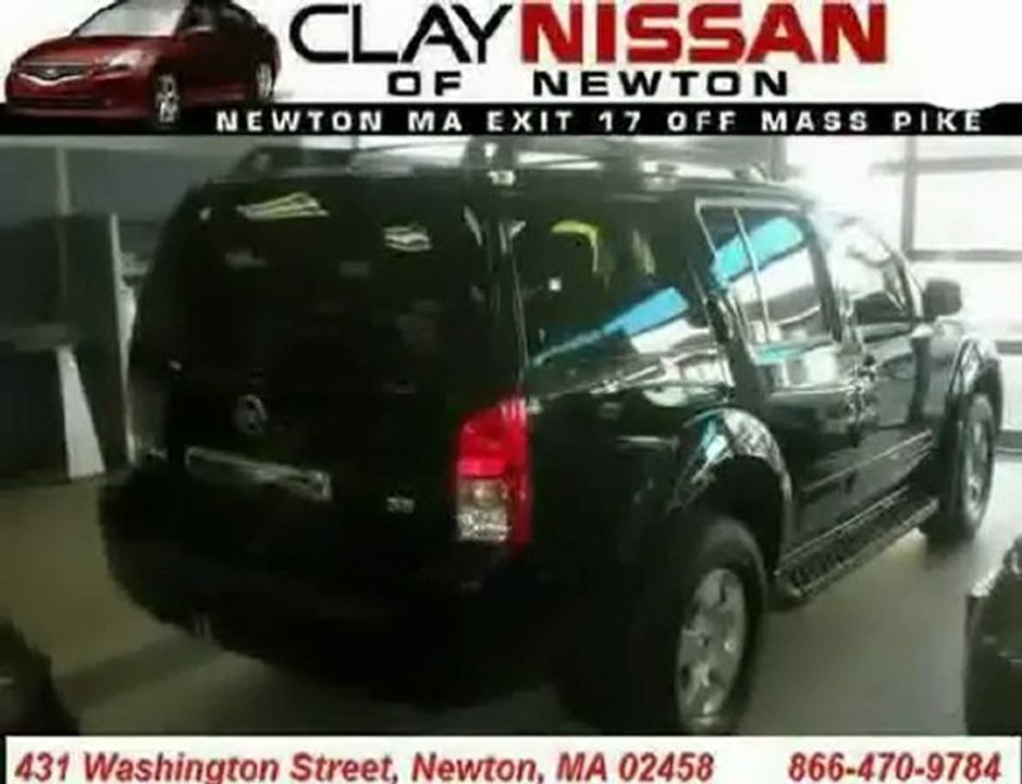 Clay Nissan Newton >> Nissan Pathfinder Mass Boston