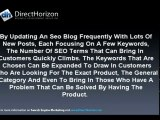 Search Engine Marketing | Blogging to Get More Customers. B