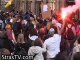 Manif intersyndicale du 23 mars 2010 à Strasbourg