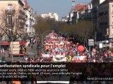 Manifestation syndicale à Chalon-sur-Saône
