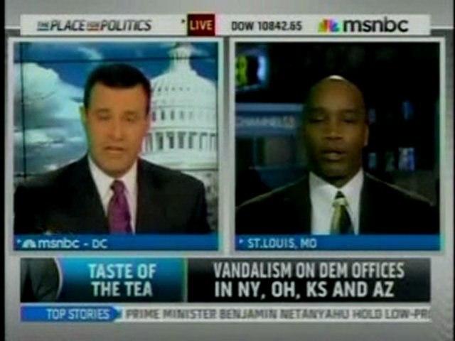 'The BIG Black Lie' Author Debates MSNBC's Shuster on Tea Pa