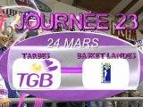 LFB J23 TARBES BASKET LANDES 5 dernières minutes
