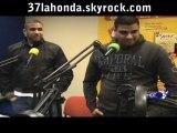 LA HONDA a la radio HOT 95 pour la promo de leur mixtape 100% MEC DU GHETTO volume 1