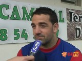 Les interviews d'avant match USAP Stade Français