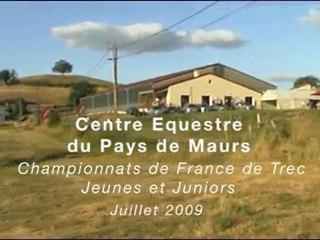 Championnat de France TREC Jeunes et Juniors à Maurs (15)