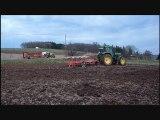Labour avec John Deere / Ploughing with John Deere