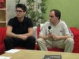 Luis Fernandez et Foot 365 face aux supporters du PSG