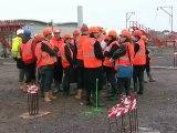 Calaisis TV:9e mois de travaux pour le chantier de l'hopital