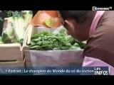 Insolite: Champion du cri du cochon! (Normandie)