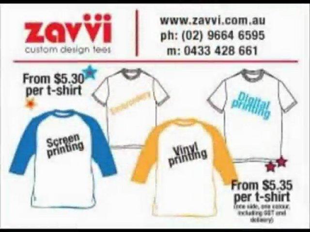 Custom t shirt design Sydney