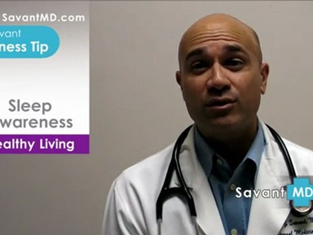 SavantMD: Sleep Awareness ~ Health and Wellness Tip