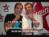 Canular Téléphonique Le Coup de Bourg : Loana piégée par Olivier Bourg sur Virgin Radio