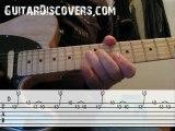 Blues guitar lessons: Fast pentatonic lick #1