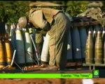 Utilisation de bombes au phosphore blanc à Gaza