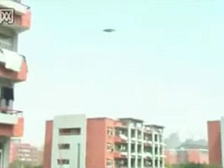 Clear Video Footage Of Flying Saucer In China