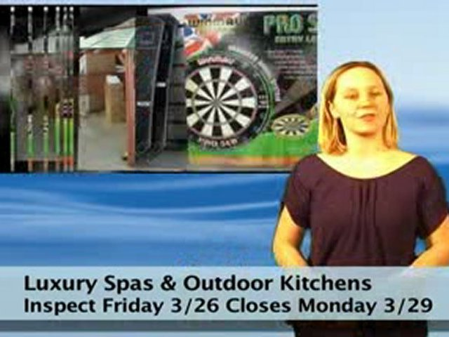 Luxury  Spa  and  Outdoor  Kitchens  Auction  Virginia
