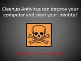 Remove Cleanup Antivirus EASILY - A Quick Cleanup Antivirus