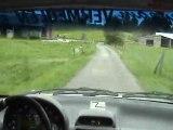 Onboard rallye de Wallonie Corsa Kit car (Kristof Vermeulen)