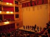 Culture, retour du Sénat, au théâtre de l'Odéon