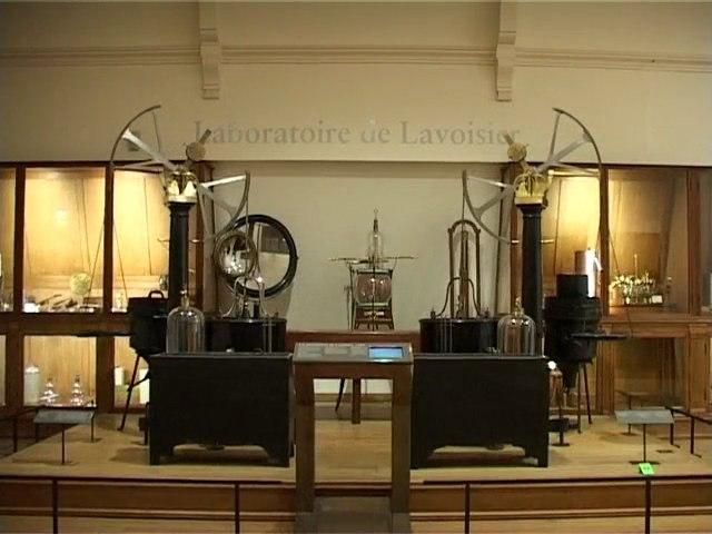 Le laboratoire de Lavoisier : la synthèse de l'eau