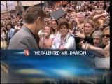 Matt Damon Honored