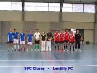 [Futsal] Défi RA 2010 : Cluses - Lentilly, 1èMT part1