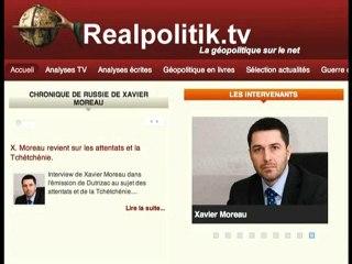 Xavier Moreau revient sur les attentats et la Tchétchénie
