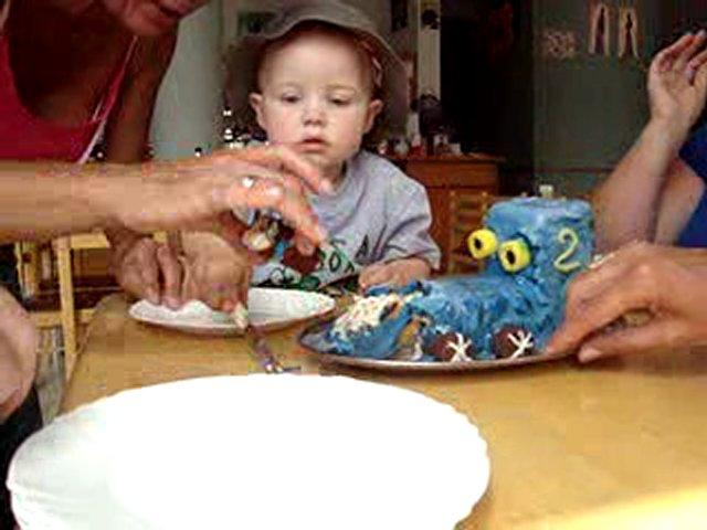 Jack Birthday Cake Cutting